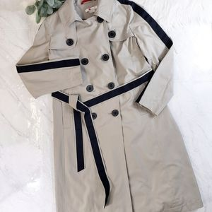 Boden Whitstable Trench Coat Tan Soft Stone